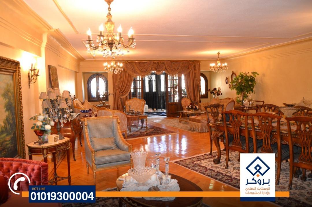شقة للبيع سموحة شارع مصطفى كامل